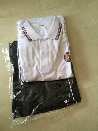 EFSS Uniform PE shirt and shorts