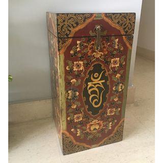 Antique Tibetan furniture