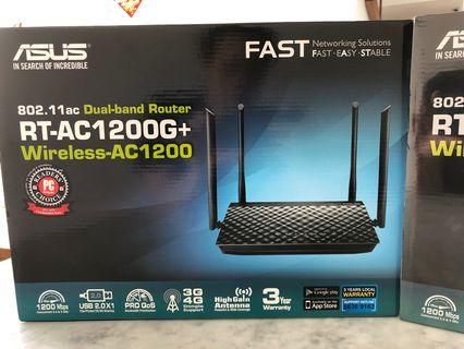 🚚 Asus Wireless AC1200 Dual band router