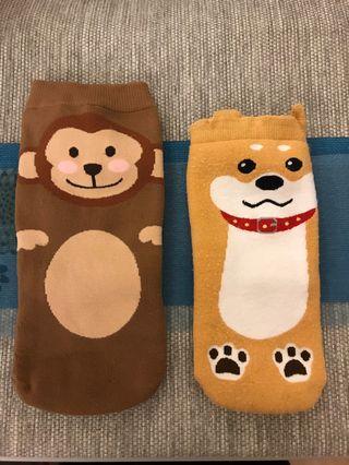 🚚 幸運🐒&🉑️愛狗🐶~水壺襪套2個