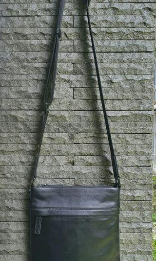 Condotti Leather Sling Bag
