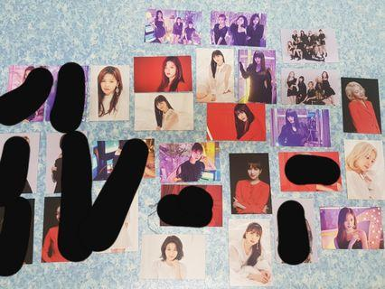 Twice Twicelights trading cards