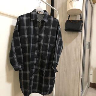 🚚 格子襯衫外套