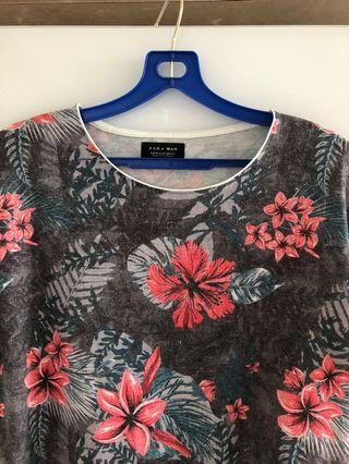 Zara Men M T-shirt