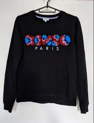 🚚 Kenzo. Pullover. Black. Colorful details.