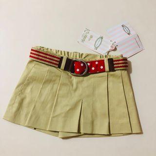 Nicolas & bears 9-18m 裙褲連belt