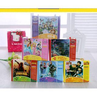 Ready Stock! Cartoon Puzzle | Perfect birthday goodies bag ideas