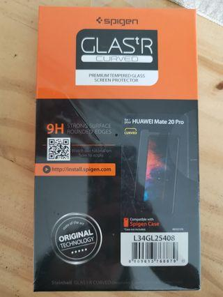 Spigen tempered glass screen protector - huawei mate 20 pro