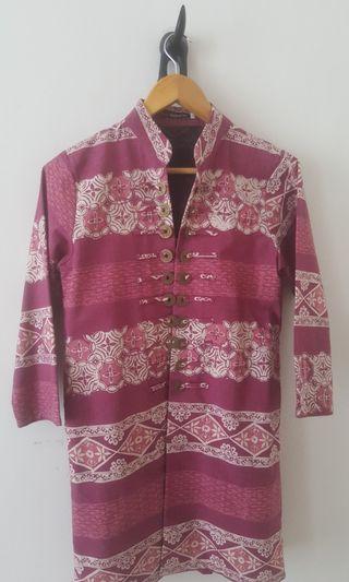 Free ongkir Outter batik keraton