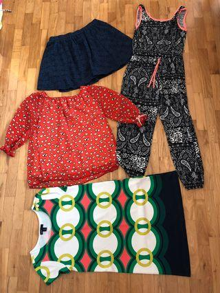 🚚 Assorted clothes for girls age 9-10