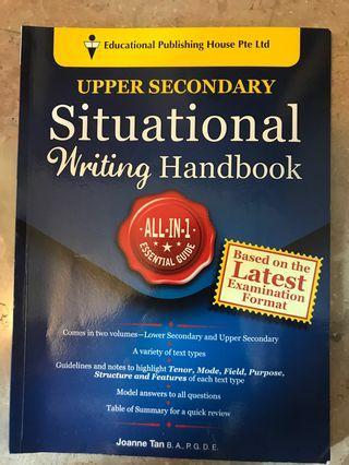 🚚 Upper secondary situation writing handbook