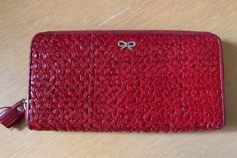 Long leather wallet Anya Hindmarch