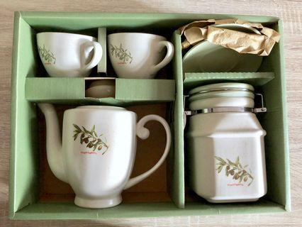 茶杯茶壺茶罐茶具組