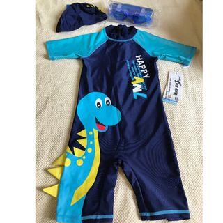 Brand new with tag kids swimsuits set to sell RM100 only