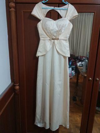 NEW Ivory Evening Gown Evening Dress