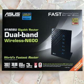 ASUS RT-N56U Dual-Band Wireless-N600 Gigabit Router