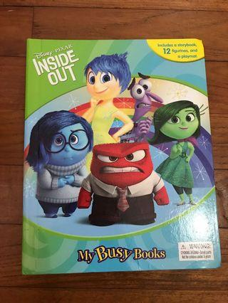 Inside Out Disney My Busy Book