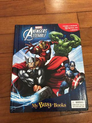 Avengers Assemble My Busy Book