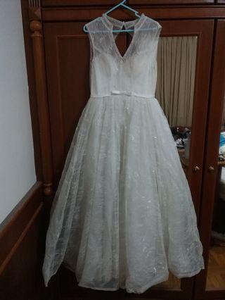 New Crystal Off White Wedding Gown Wedding dress