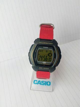 Casio HDD-600G-9AV. 10 years battery.100 meter