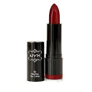 NYX Red Extra Creamy lipstick in Snow White