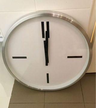 Rare big Clock (60cm diameter) spoilt