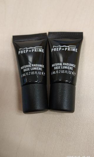 🌸[Mac] Prep+prime natural radiance 妝前自然光澤底霜 6ml
