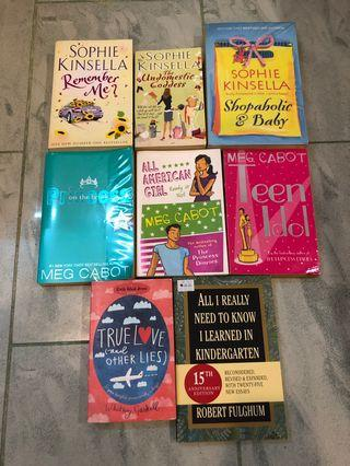 Sophie Kinsella and Meg Cabot