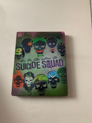Suicide Squad Steel Book Edition Blu Ray
