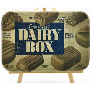 🚚 1930s-1950s Rowntree's Dairy Box