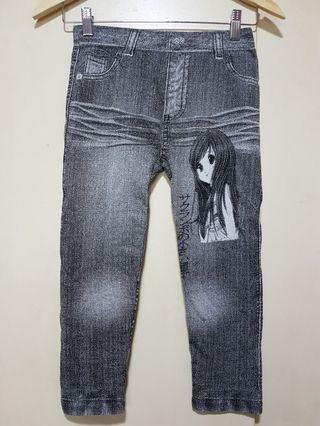 Tight w Jean prints