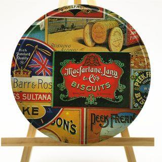 Vintage Macfarlane Lang & Co Biscuits Tin