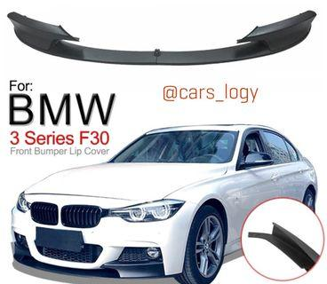 🚚 BMW F30 Front Lip (PP Material/ CF) M PERFORMANCE KIT