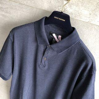 🚚 Forever 21深藍點點POLO XL