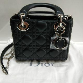 Nano Lady Dior with Chain