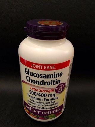 300粒 - 葡萄糖胺、軟骨素(500/400 mg)