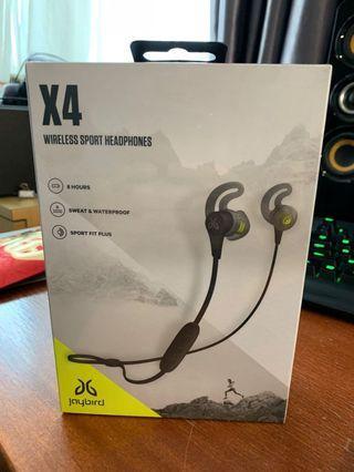 Jaybird X4 Wireless Sport Headphones NEW