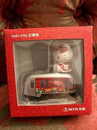 絕版Hello Kitty x MTR釘書機