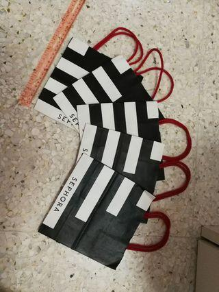 Sephora paper bag - small size
