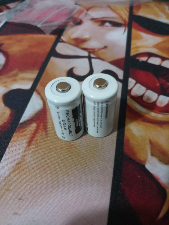 16340 Li-on Rechargeable Battery