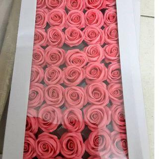 50 pieces soap flower
