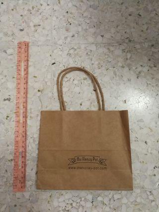 The honey pot paper bag
