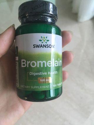Swanson's Bromelain supplement