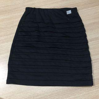 51. Bandage skirt hitam