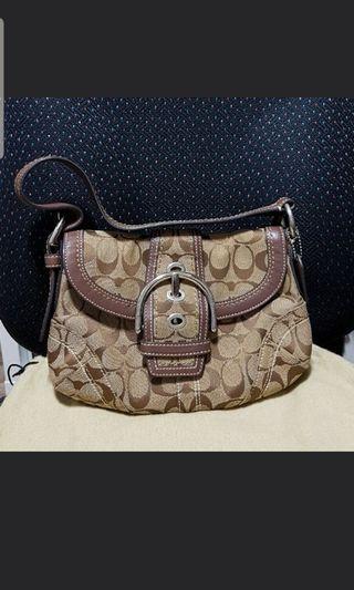 🚚 [Preloved] Coach Hobo Handbag