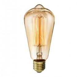 [HG361] 2Pcs KINGSO Vintage light bulb Retro old fashioned Edison Style Screw ST64 19 anchors Squirrel Cage tungsten filament antique Lamp Not Dimmable 220V 40W E27