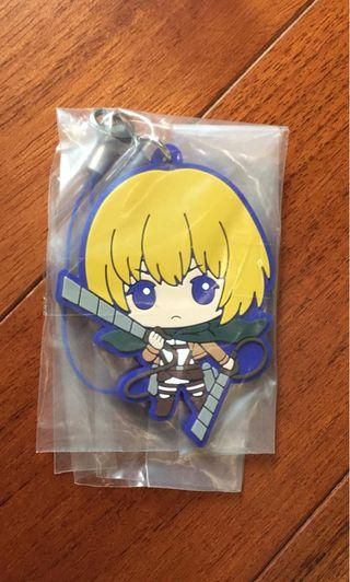 ATTACK ON TITAN ARMIN KEYCHAIN