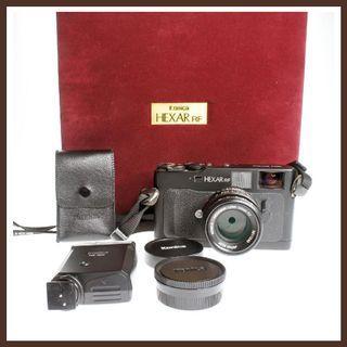 Konica Hexar RF + 50mm F/2 Lens