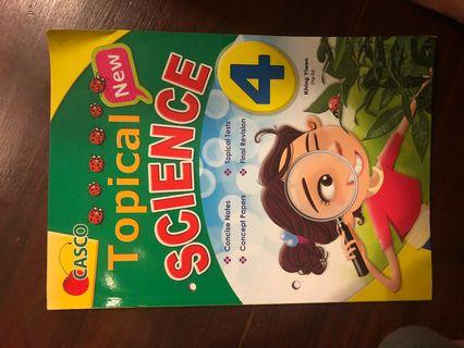 Primary 4 Science workbook