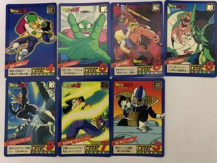 Dragonball Powerlevel Normal Cards